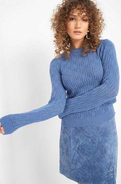 Трикотаж ORSAY Синий