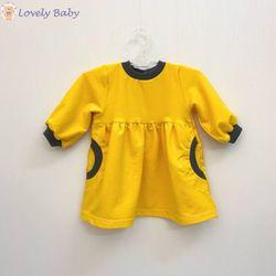 Платье R06, желтое