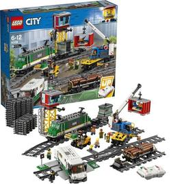 "LEGO City Trains  ""Trenul de marfă"", art. 60198"