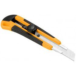 Нож 18 мм пластик зажим винтовой Tolsen