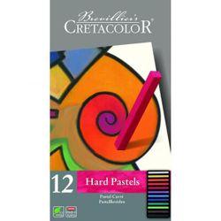 Set de pasteluri profesionale Carres Hard Cretacolor 12 cul.