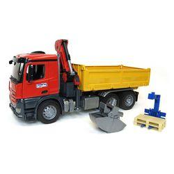 Truck cu macaraua și accesorii Mercedes Benz Arocs, cod 42300