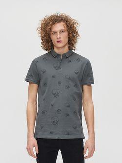 Tricou CROPP Gri cu imprimeu yd679