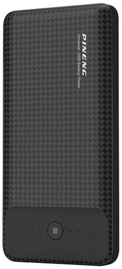 купить Аккумулятор внешний USB (Powerbank) Pineng PN-936 Black, 10000 mAh в Кишинёве