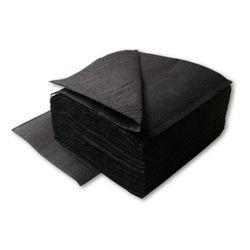 Салфетки столовые 1500 шт 24*24(черные)