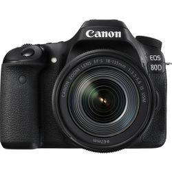 cumpără Aparat foto DSLR Canon EOS 80D + 18-135 IS nano USM (1263C040) în Chișinău