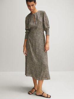 Платье Massimo Dutti Леопард 6604/821/712
