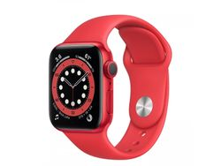 Apple Watch Series 6 GPS, 40mm Red Aluminum Case
