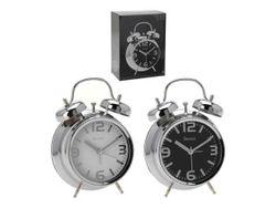 Ceas-desteptator din metal 11.8Х5.7Х16cm (cadran stralucitor)