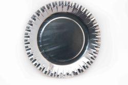 Тарелка белая\ серебряная
