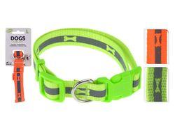 Zgarda pentru caini Dogs D30-50cmX2cm  neon, 2culori