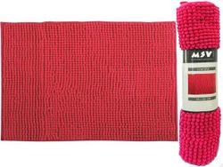 Коврик для ванной комнаты 40X60cm Chenille розовый, микрофи