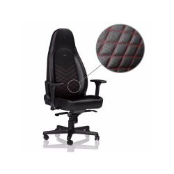 Gaming Chair Noble Icon NBL-ICN-PU-BRD Black/Red