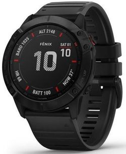 купить Смарт часы Garmin fenix 6X Pro, Black w/Black Band в Кишинёве