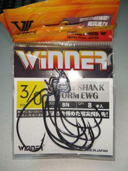 Крючки Winner 3/0# 10 шт
