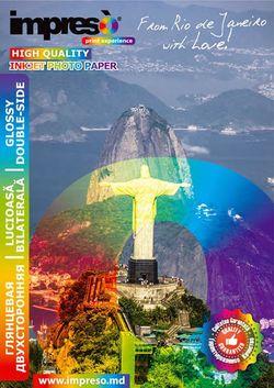 cumpără Hârtie foto Impreso IMP-GA4260020DS Double-Side Glossy A4, 260g, 20pcs în Chișinău
