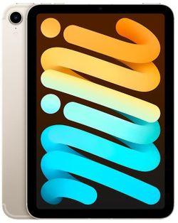 cumpără Tabletă PC Apple iPad Mini 6th Gen 64GB, Wi-Fi + Cellular, Starlight MK8C3 în Chișinău