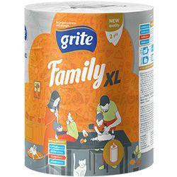 GRITE - Prosop de bucatarie 2str Family XL, 1 rola, 45m