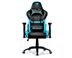 Gaming Chair Cougar ARMOR ONE Black/Sky Blue