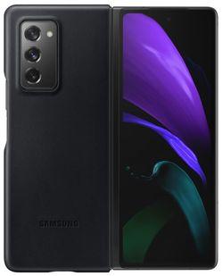 cumpără Husă pentru smartphone Samsung EF-VF916 Leather Cover Black în Chișinău