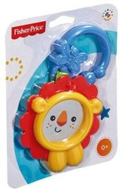 Teether Rattle Lion / Toad Fisher-Price, cod CBL16