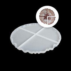 Подстаканники 4 шт. (21см), сборный силиконовый молд