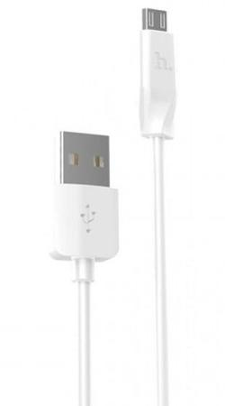 Кабель Hoco X1 Rapid charging cable Micro 1M white