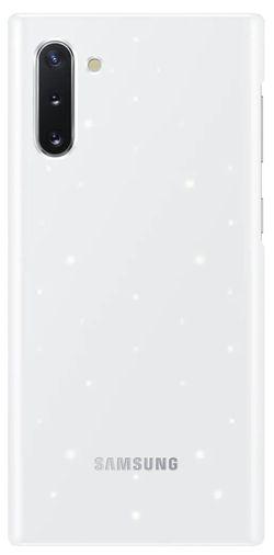 купить Чехол для моб.устройства Samsung EF-KN970 LED Cover White в Кишинёве