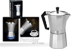 Ibric de cafea pentru 9 cani EH, din aluminiu