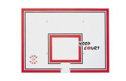 Щит баскетбольный 120х90 см, 5 см PP 160 outdoor, red (5227)