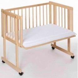 Кроватка приставная Piccolo 90x45 Duo, цвет сосна, код 42972