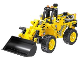 6803, XTech Bricks: 2in1, Construction Bulldozer & Tank, 261 pcs