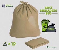 Мешки для мусора BIO, 120L (10 шт)