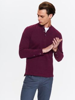 Tricou TOP SECRET Bordo SPL0392CE