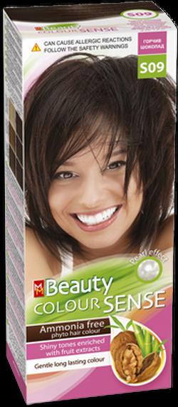 Краска для волос,SOLVEX MM Beauty Sense, 125 мл., S09 - Горький шоколад
