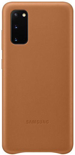 cumpără Husă telefon Samsung EF-VG980 Leather Cover Brown în Chișinău
