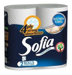 Prosoape hârtie SOFIA 4 str. 10m*2