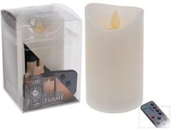 Свеча LED 12.5X7.5cm, таймер и диммера, дист.упр