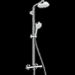Sistema de  dus hansgrohe Crometta 160 1Jet Showerpipe cu termostat