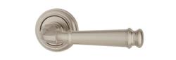 Дверная ручка на розетке Montana матовый никель