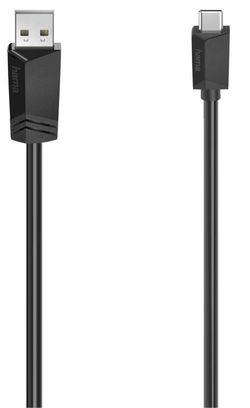 купить Кабель для моб. устройства Hama 200632 USB-C Cable Plug USB-A – USB-C 480 Mbit/s, 1.50 m в Кишинёве