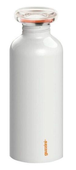 купить Бутылочка для воды GUZZINI 309253 из нерж стали 650 мл (белая) в Кишинёве