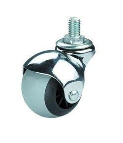 Roată de metal pentru mobilier – Ø40mm,cu bolt