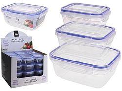 Set de cutii alimente pentru pastrarea productelor 3buc