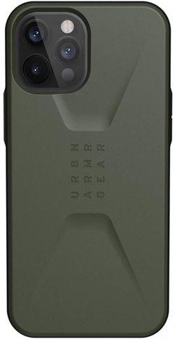 cumpără Husă pentru smartphone UAG iPhone 12 Pro Max Civilian Olive 11236D117272 în Chișinău
