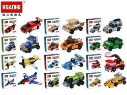 Конструктор HSANHE mini car 12X12X4cm, 12 видов (N6027)