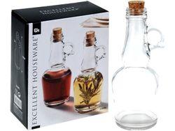 Set sticla pentru ulei si otet cu dop EH 250ml, H18cm