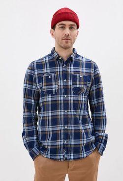 Рубашка Tom Tailor Синий в клетку tom tailor 1016063