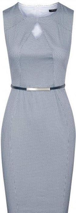 Платье ORSAY Синий с принтом 490130