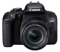 cumpără Aparat foto DSLR Canon EOS 800D 18-55 IS STM (1895C019) în Chișinău